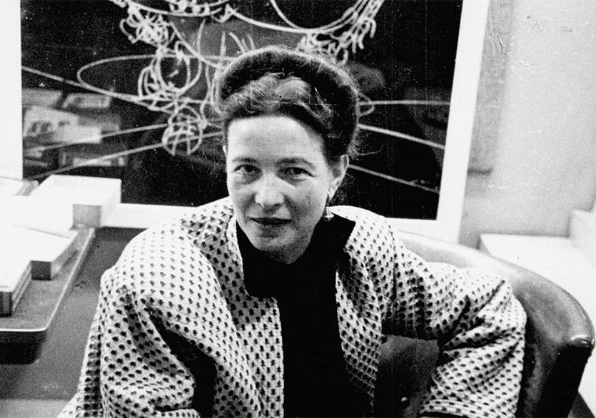 Bir Simone de Beauvoir Biyografisi