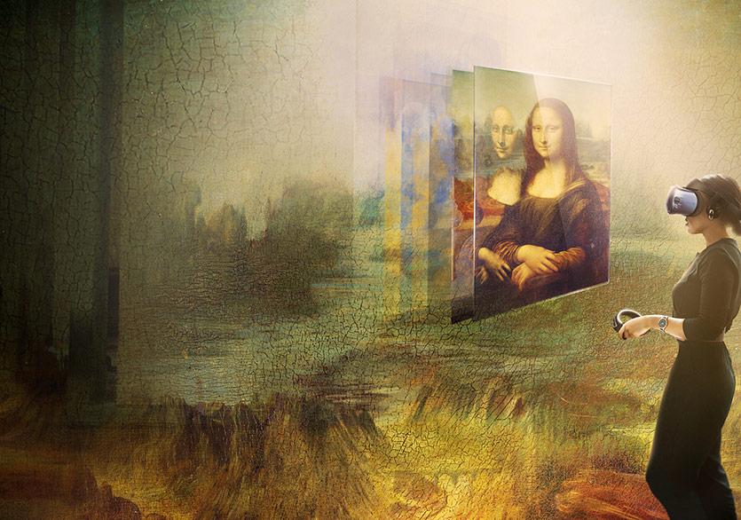 Louvre Müzesi'nde Sanal Gerçeklik Deneyimi