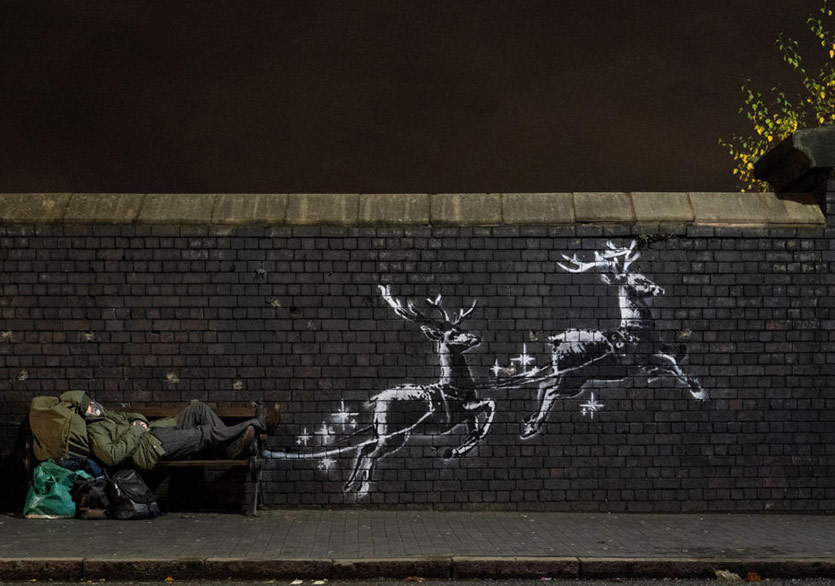 Banksy'den Yeni Yıl Videosu