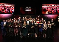 21. Yapı Kredi Afife Tiyatro Ödülleri Sahiplerine Verildi