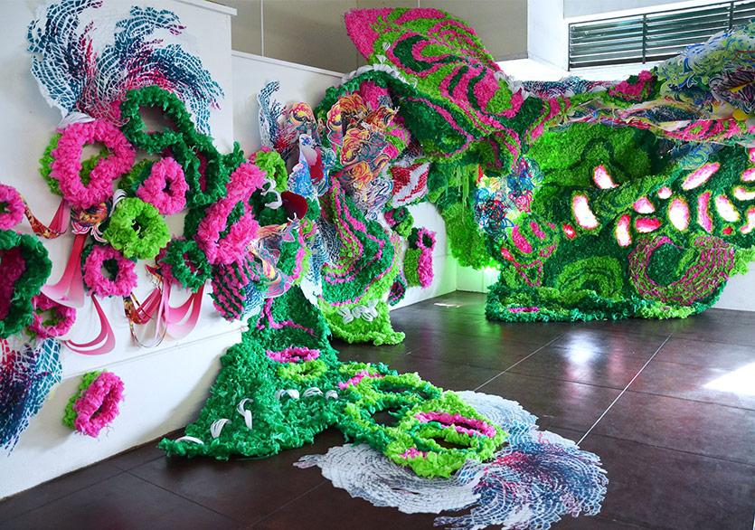 Crystal Wagner'in Renkli Sarmaşıkları