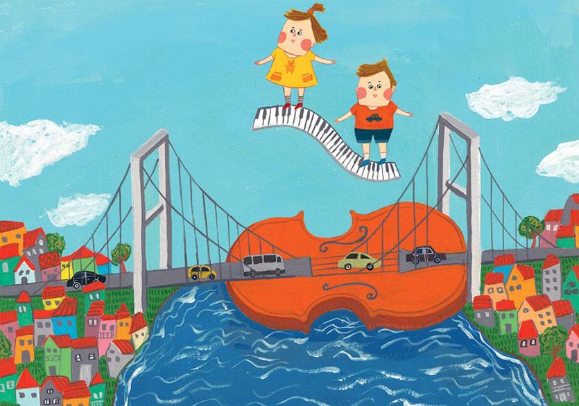 47. İstanbul Müzik Festivali'nin Çocuk Kitabı: Fanfar: Müzikli Bir İstanbul Masalı