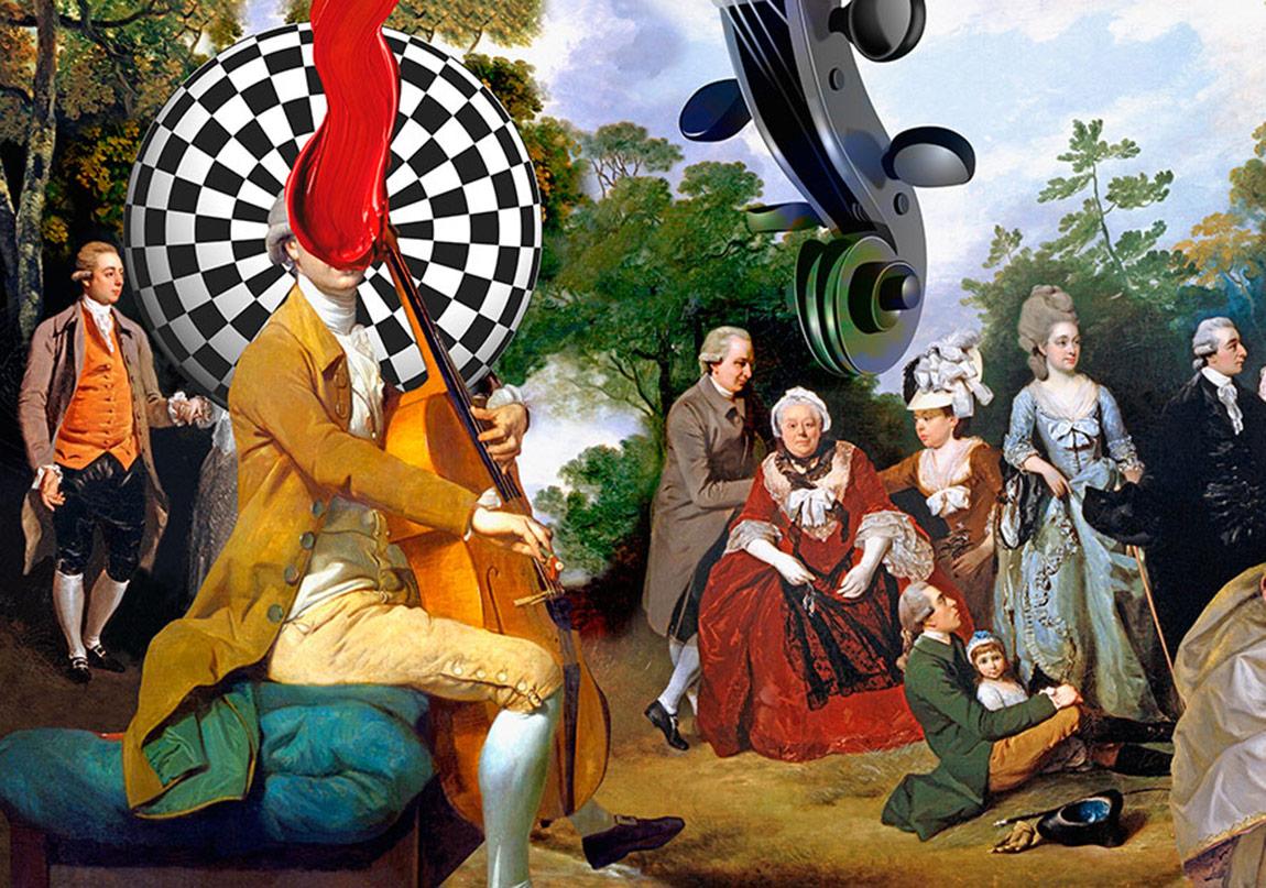Klasik Tablolar Çağdaş Sanatla Birleşiyor