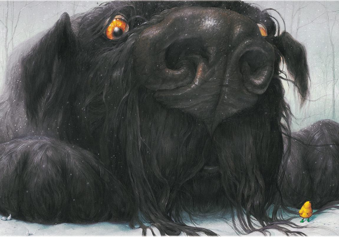 Kocaman Bir Kara Köpek