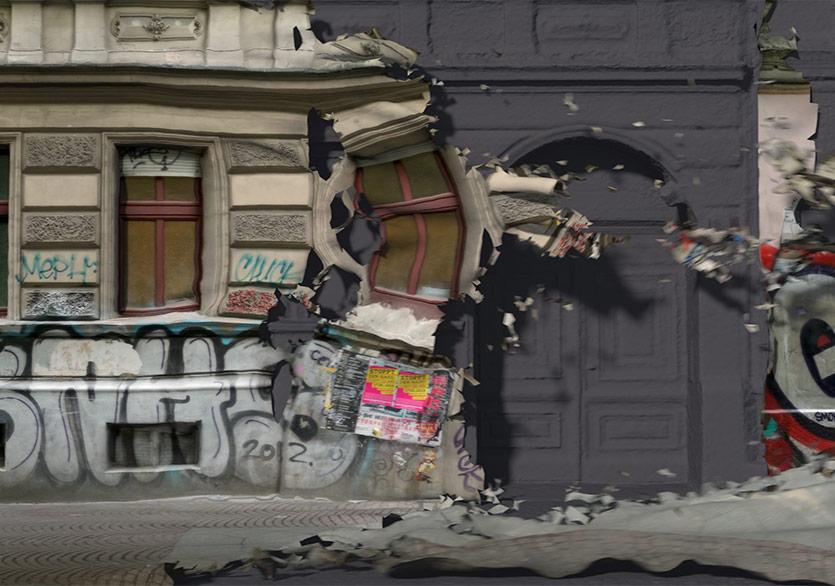 """Berlin Duvarının Ardında: """"Kreuzberg Shedding"""""""