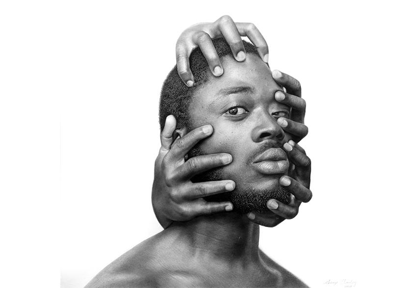 Arinze Stanley'den Siyahlara Dair Hiper Gerçekçi Portreler