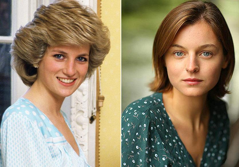 The Crown'da Prenses Diana'yı Emma Corrin Canlandıracak