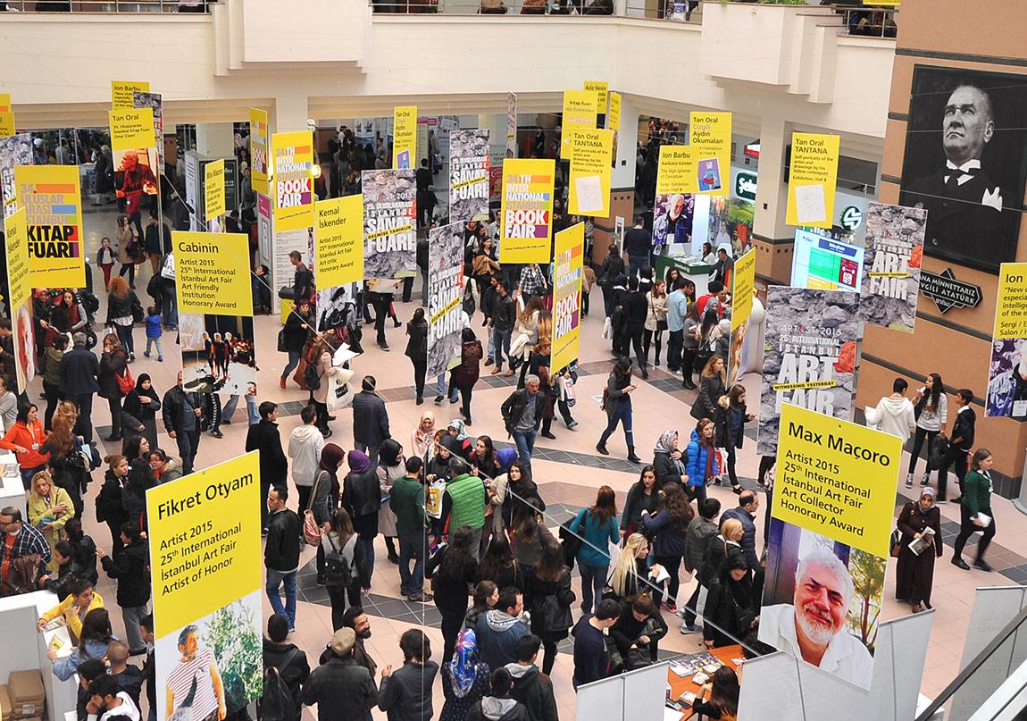 37. Uluslararası İstanbul Kitap Fuarı'nın Programı Açıklandı