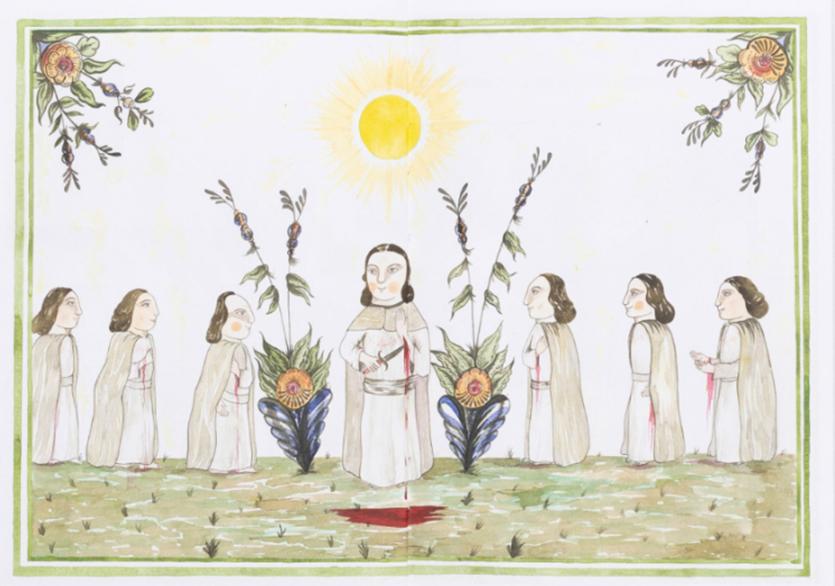 Midsommar'ın Yıl Dönümünde Ritüel Çizimleri Kitabı Yayımlandı