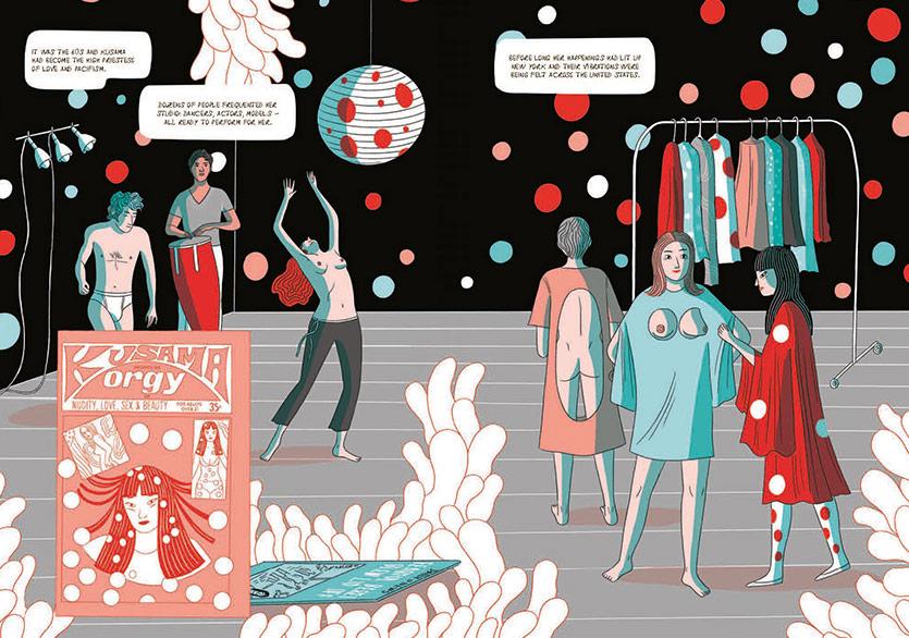Yayoi Kusama'nın Sanatsal Yolculuğu Çizgi Roman Oldu