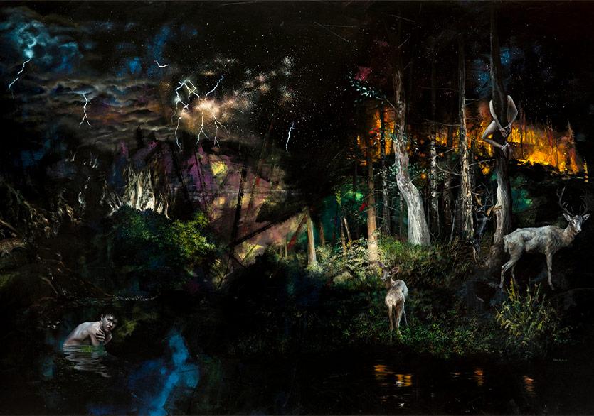 """Galeri Selvin'den Yeni Sergi """"Sessizlikte Bir Gün II"""""""