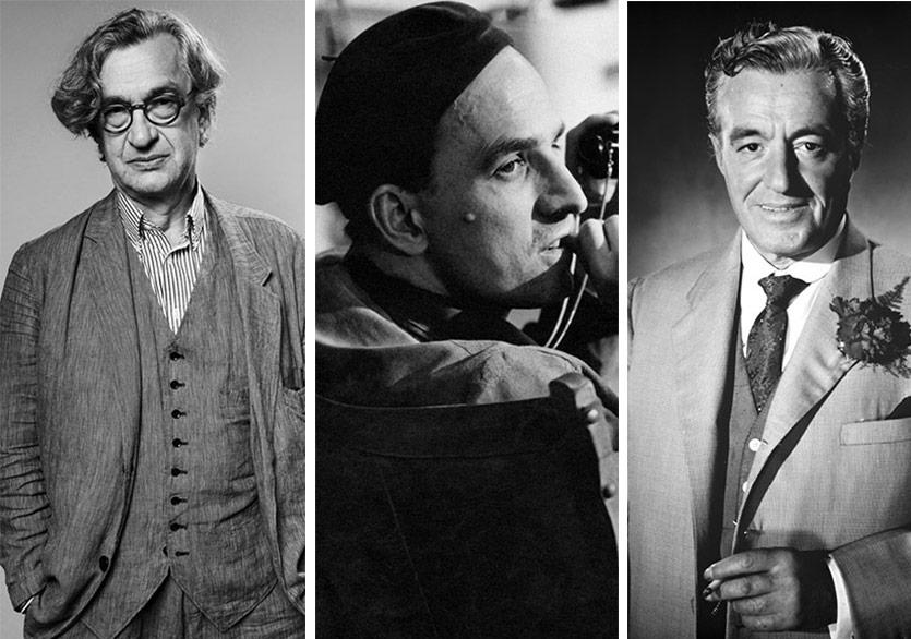 Üç Büyük Yönetmen: Bergman-De Sica-Wenders