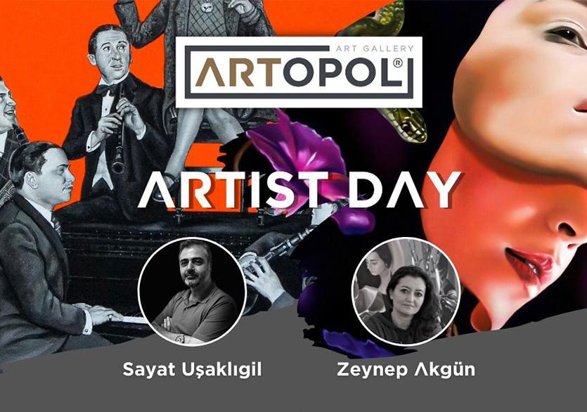 "Artopol Sanat Galerisi'nden ""Artist Day"" Etkinlik Serisi"