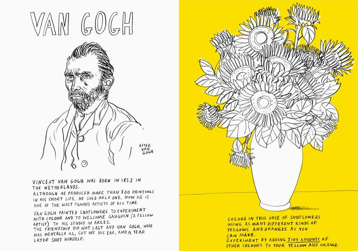Küçük Sanatçılar İçin Bir Kitap