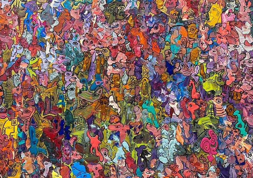 """Ferruh Karakaşlı """"Man of Colors"""" Sergisiyle Artopol Galeri'de"""