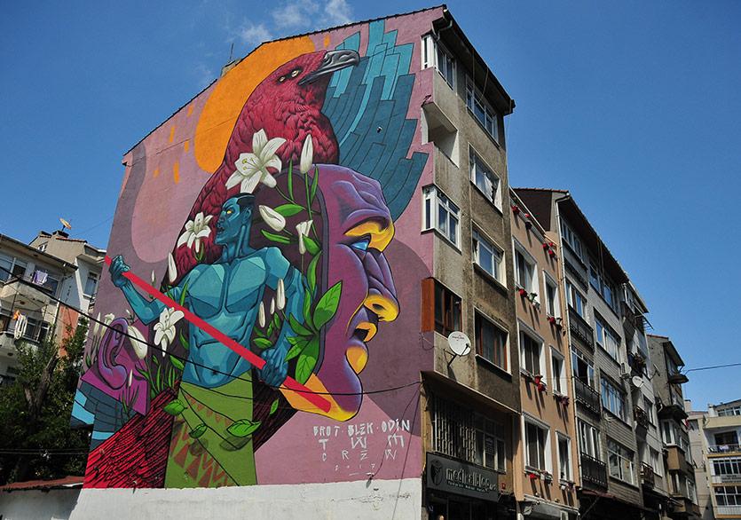 7. Mural İstanbul Festivali Başlıyor