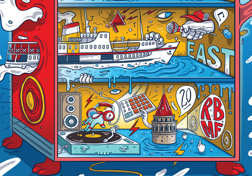 Red Bull Music Festival Şehri Kuşatmaya Hazırlanıyor