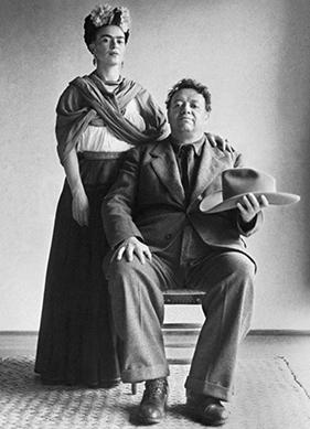 Fotoğrafçıların Gözünden İkonik Ressamlar: Frida ve Diego