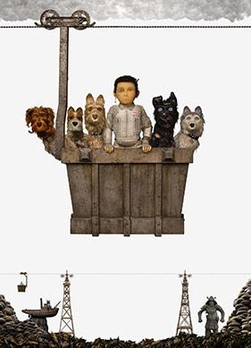 Bir Grup Köpek ve Bir Çocuğun Peşinde