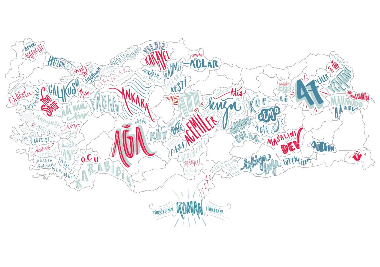 Türkiye'nin Roman Haritası