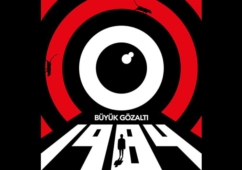 Orwell'in Distopyası 1984 (Büyük Gözaltı) Sahnede