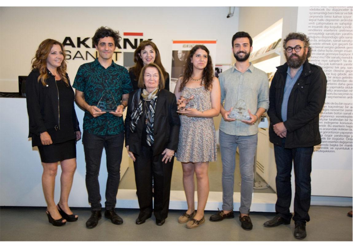 Akbank Günümüz Sanatçıları Ödülü 2015