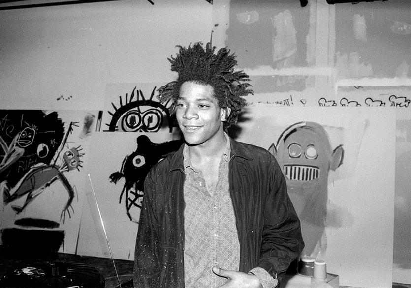 Basquiat'ın Daha Önce Görülmemiş Eserleri New York'ta Sergilenecek