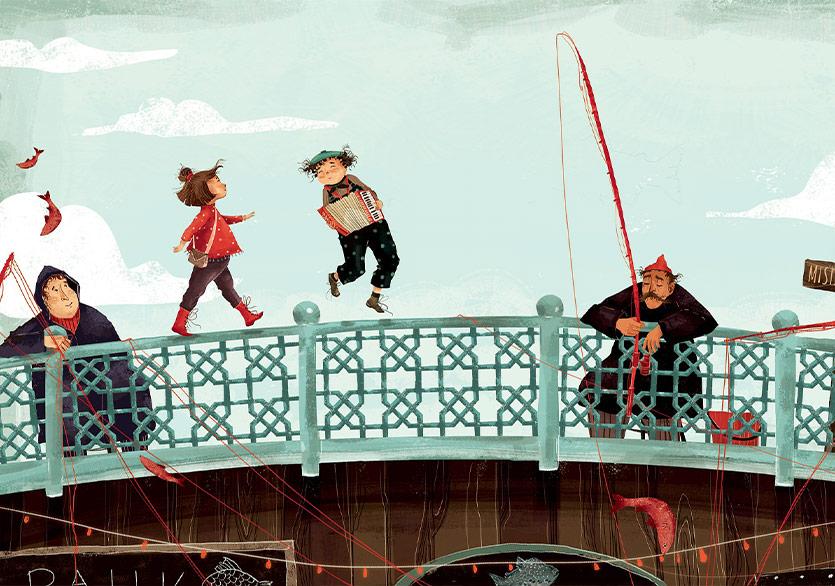 Bir İtalyan Yazardan Çocuklar İçin İstanbul Kitabı