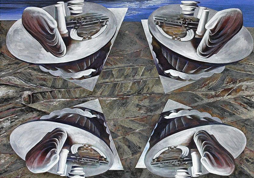 Ünlü Macar Sanatçı Frigyes Kőnig Eserleri Güler Sanat'ta