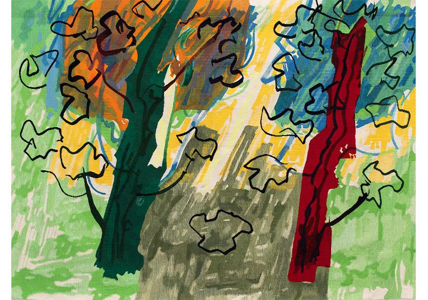 """Pera Müzesi'nde Renklerle Yazılmış Bir Şiir: """"İmkânsız Eve Dönüş"""""""