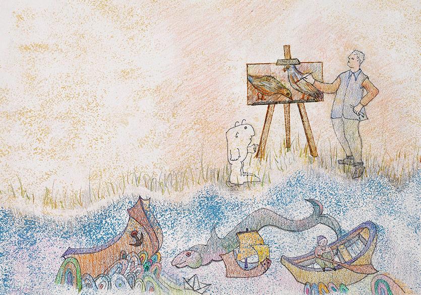 Bozlu Sanat Yayınları'ndan Çocuk Kitabı ve Sergi