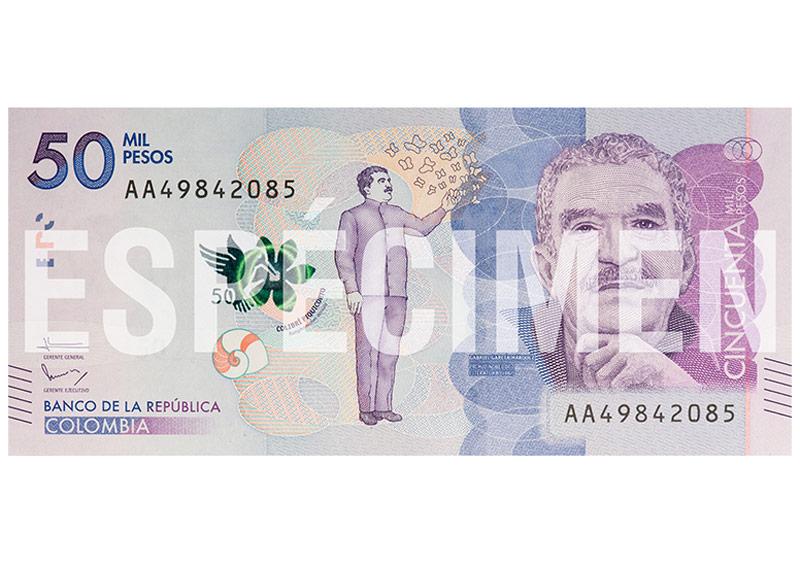 Gabo'nun Portresi Pesolara Basıldı