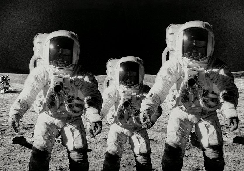 İnsanın Ay'a Ayak Basmasından Mars'a Seyahate