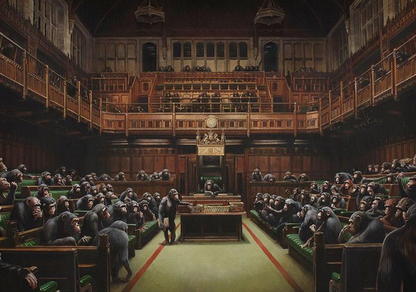 Banksy Eseri Rekor Fiyata Satıldı