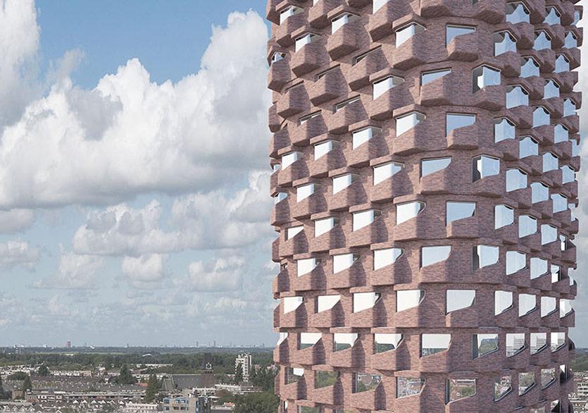 Hollanda'nın İronik Yeni Gökdeleni