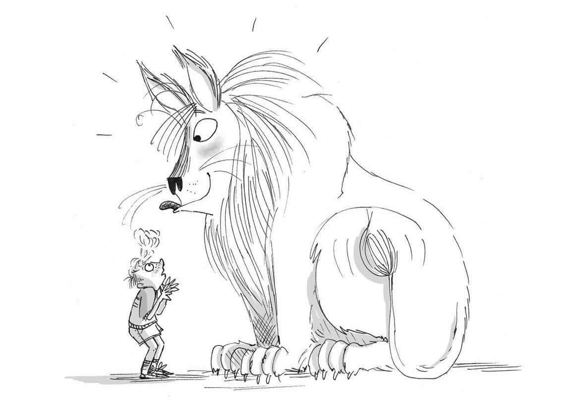 İngiliz Şövalyeden Çocuklara: Aslan Terbiyecisi Fredi Mole