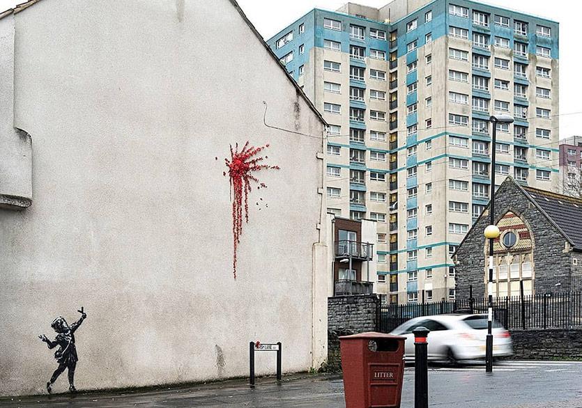 Banksy'den Sevgililer Günü Paylaşımı
