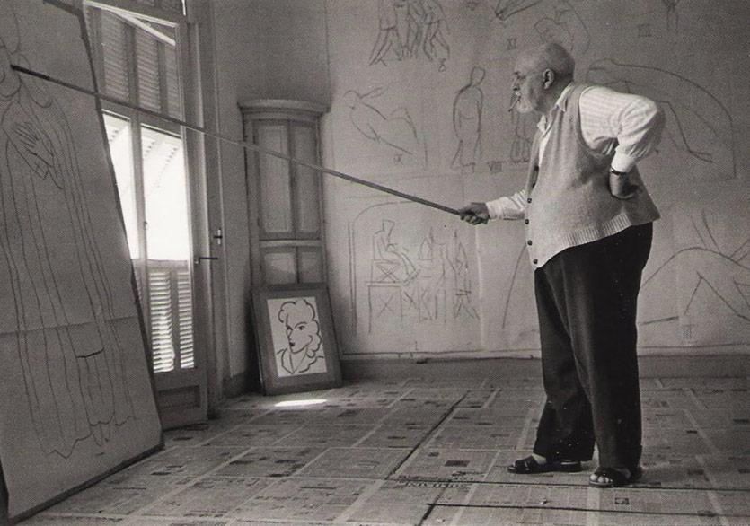 Matisse'i Stüdyosunda Ziyaret Edin