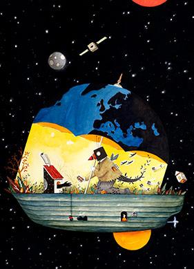 Uzayın Derinliklerinden Güncel Dünyanın Absürtlüğüne