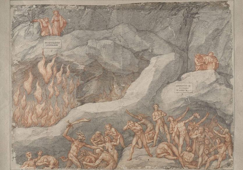 Uffizi Galeri'den, Dante'nin 700. Ölüm Yıl Dönümü Anısına Çevrim İçi Sergi