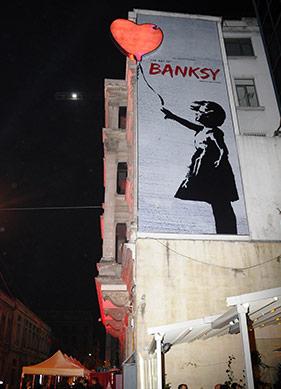 Bir Banksy Parodisi