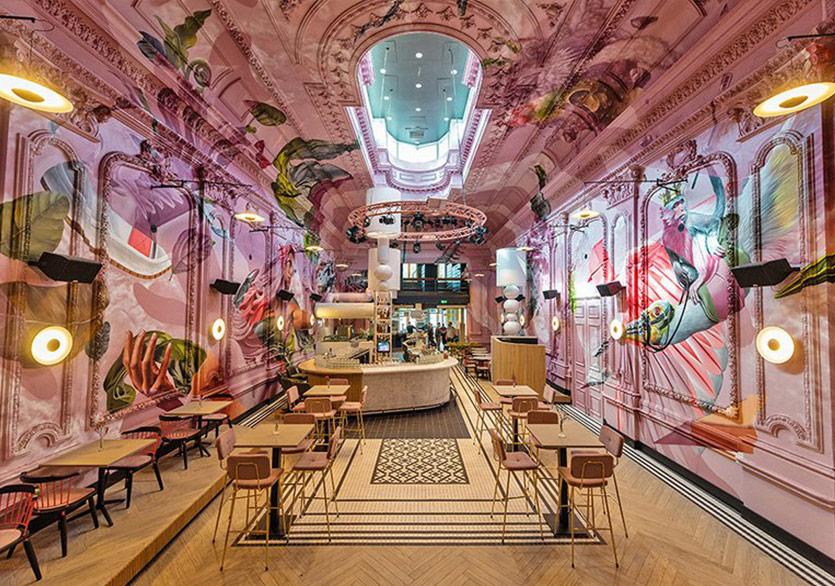 Düşler Ülkesinde Bir Restoran Hayal Edin!