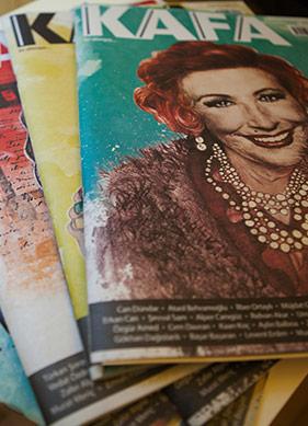 KAFA'larına Göre Dergi Yapıyorlar!
