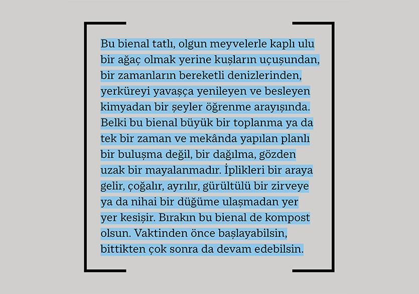 17. İstanbul Bienali Açık Radyo'da