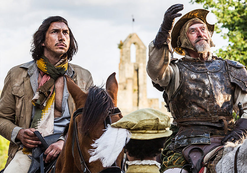 Don Kişot'u Öldüren Adam Vizyona Giriyor