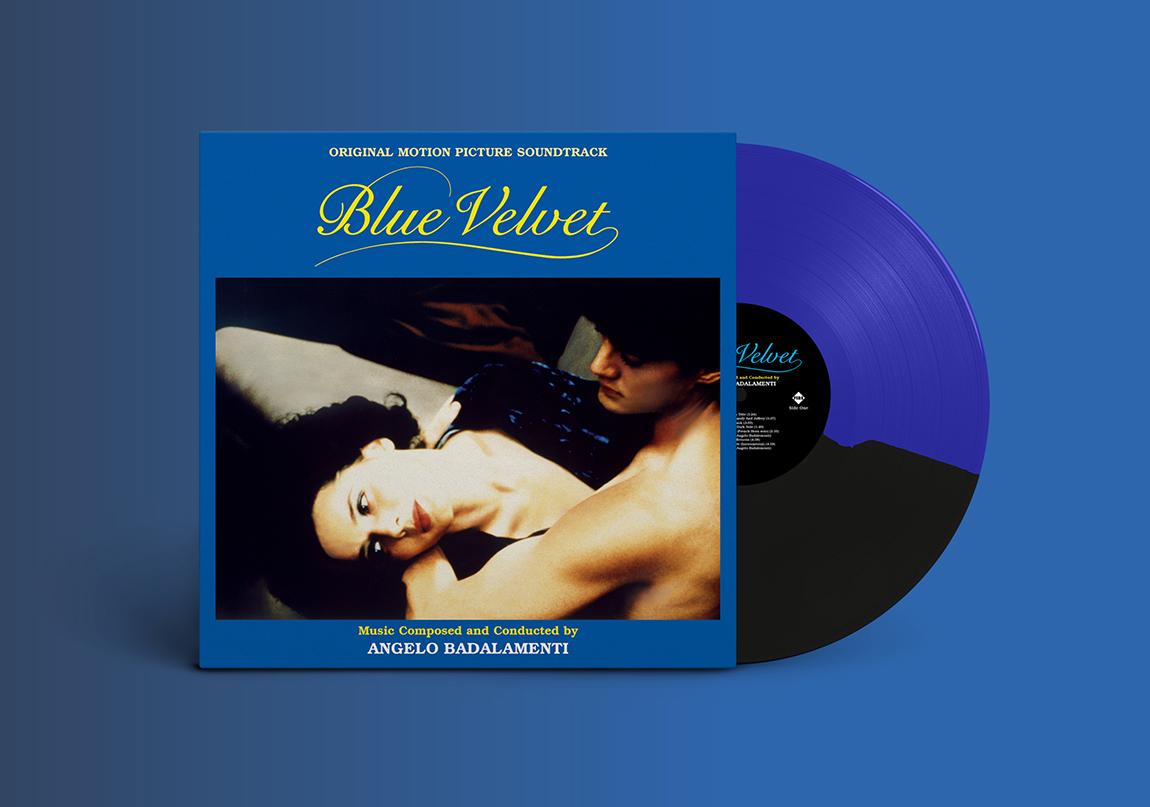 Blue Velvet Soundtrack Albümü Plak Formatında