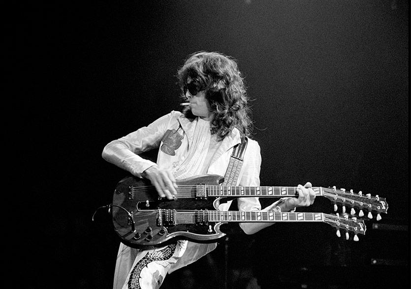 The Rolling Stones Jimmy Page'in Daha Önce Yayımlanmamış Bir Şarkısını Paylaştı