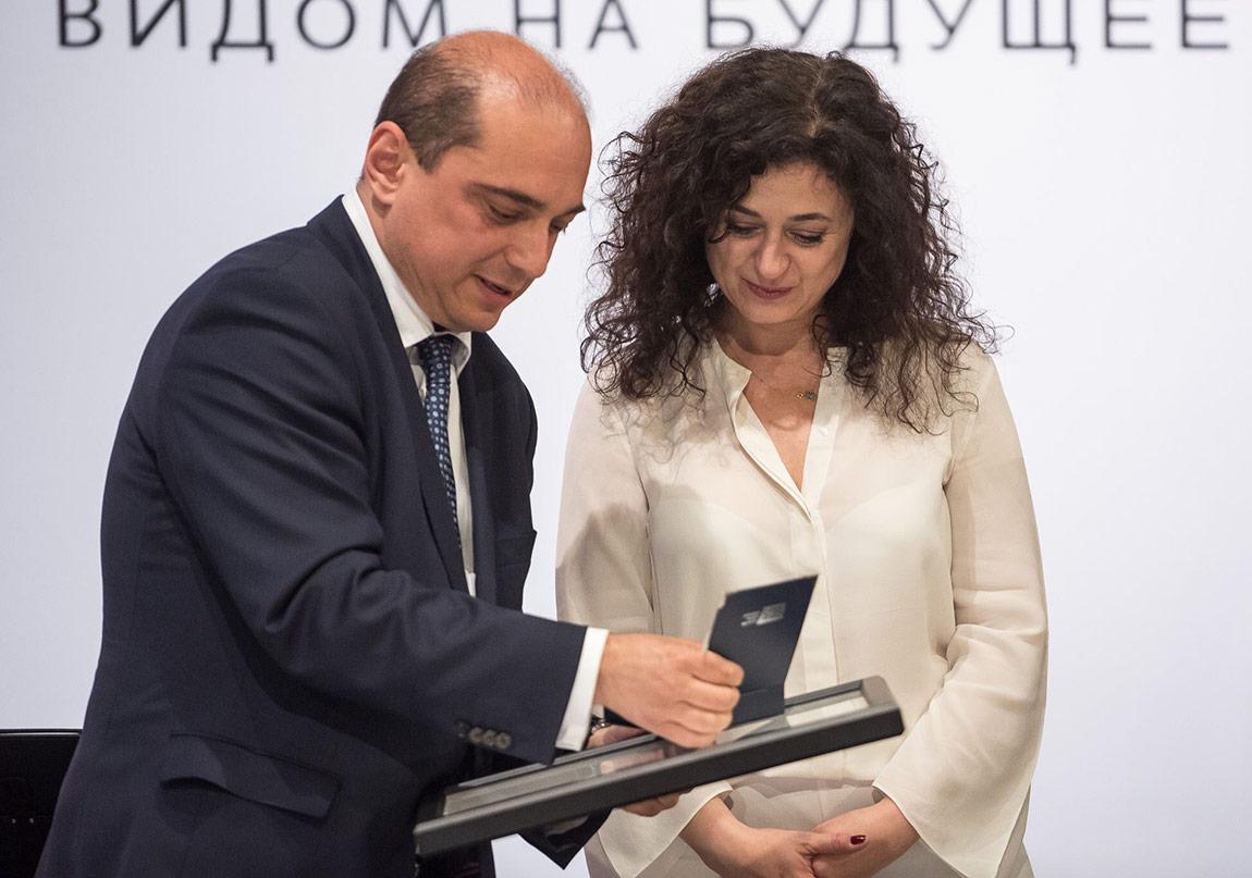 Ece Temelkuran'a Yeni Avrupa'nın Büyükelçisi Ödülü