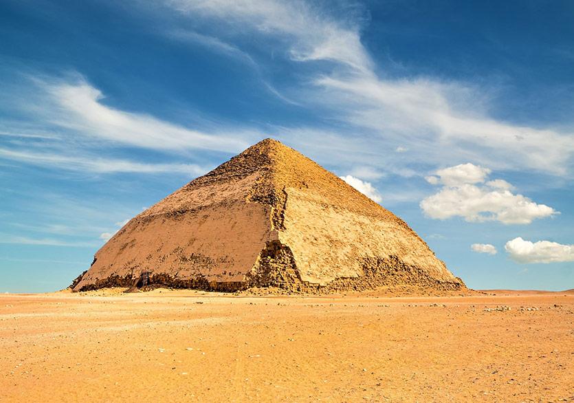 Bent Piramidi 50 Yıl Sonra İlk Kez Ziyarete Açıldı