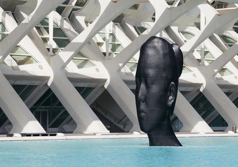 Jaume Plensa'nın Kadın Suretleri Valensiya'da